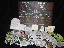 Huge  Exclusive Joblot Romany Designer Stickers Canisters Jugs Resale Market
