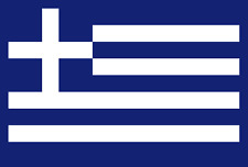 ADESIVO BANDIERA FLAG GRECIA GREECE DECAL STICKER!!