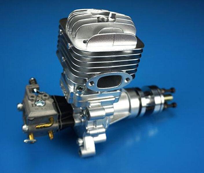 De alta calidad DLE30 30cc Gas Engine para radio control Avión Aviones Y Silenciador XD ella