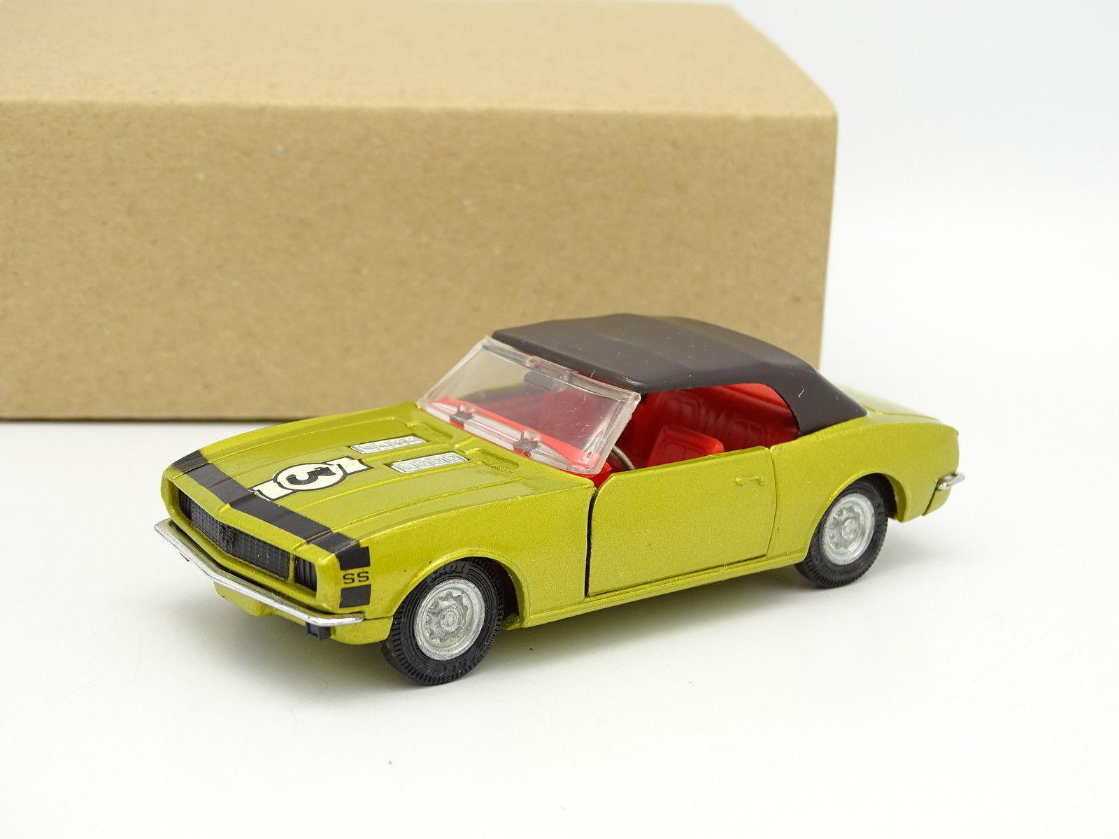 Corgi toys sb 1 43 - chevrolet camaro ss gold metal