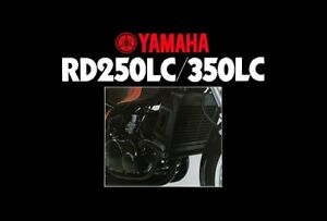 YAMAHA RD250LC RD350LC 4L0 4L1 MOTORCYCLE VINTAGE POSTER BROCHURE ADVERT A3