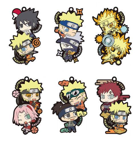 NARUTO Shippuden Naruto /& Sakura Candy Toy Rubber Mascot Key Chain Collection