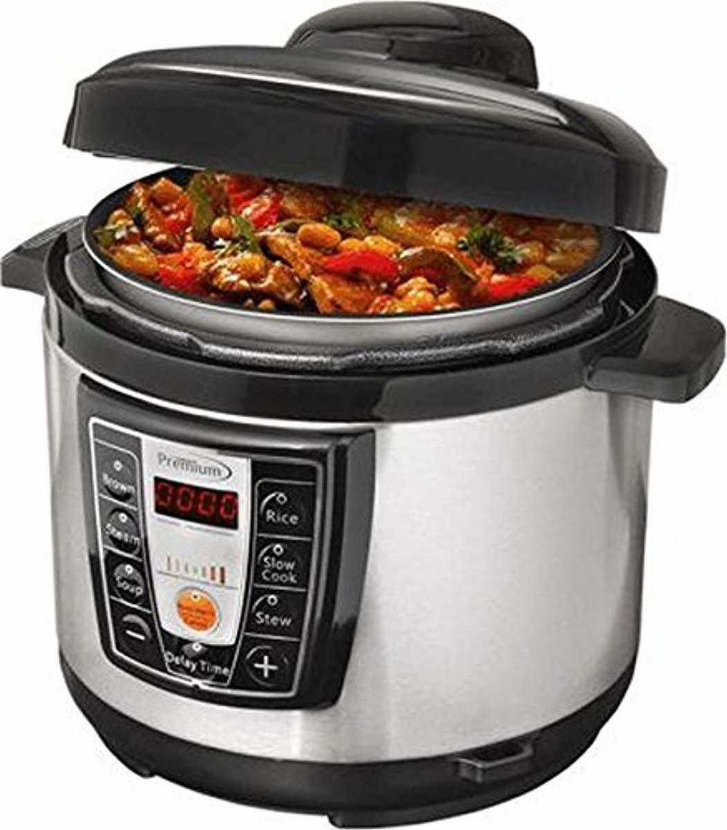 Olla presion Digital temperatura programmables coccion multiuso comida Sana Cocina
