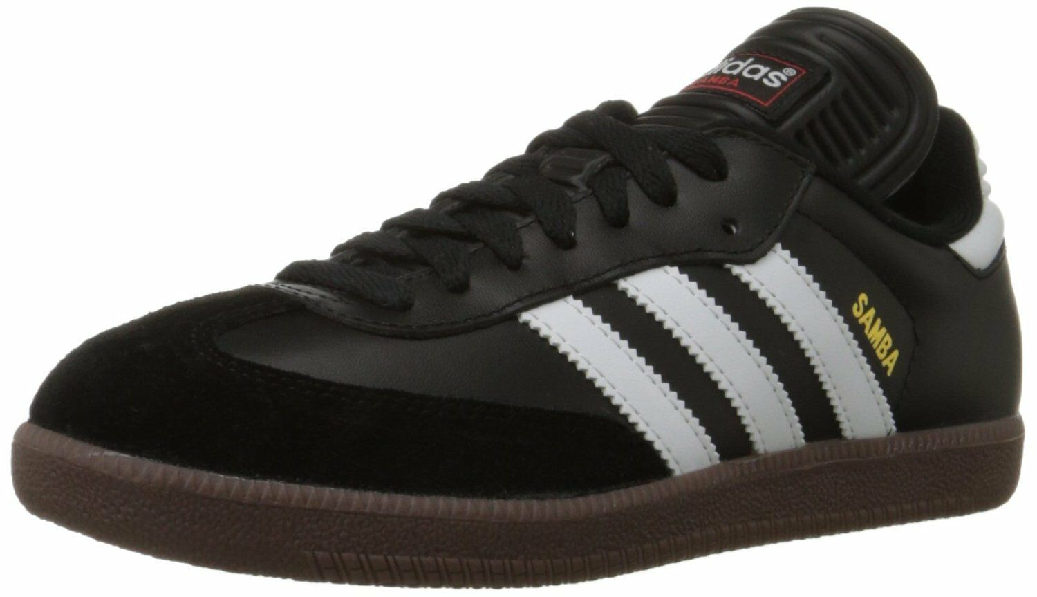 adidas Lace SAMBA CLASSIC Mens Black/Runwht 034563 Lace adidas Up Indoor Soccer Shoes 36413a