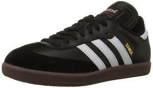 adidas-SAMBA-CLASSIC-Mens-Black-Runwht-034563-Lace-Up-Indoor-Soccer-Shoes