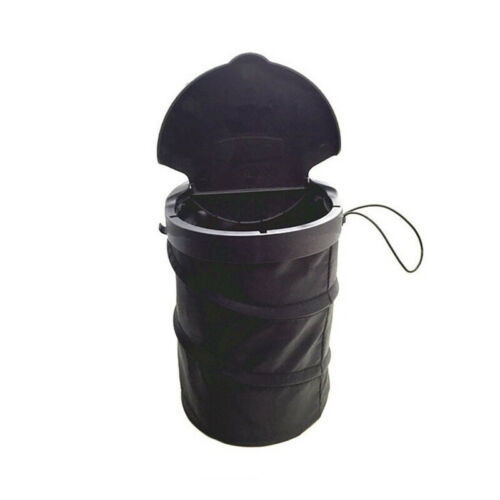 Car Wastebasket Trash can Litter Container Auto SUV Ven Foldable Garbage Bin//Bag