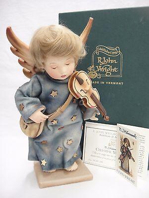 Hummel Celestial Musician Angel Doll by R John Wright Limited Ed 54/100 Box COA