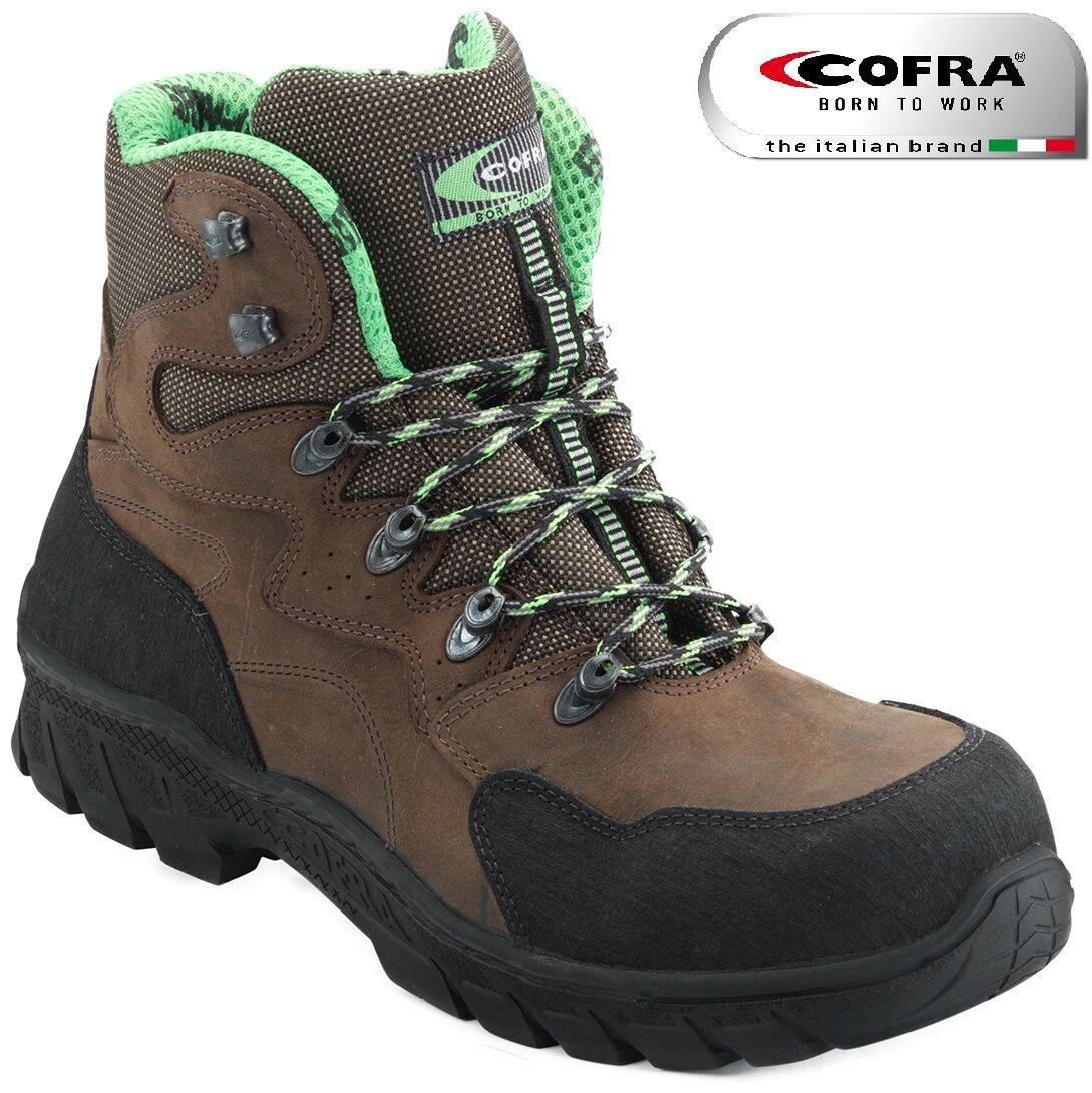 MENS Cofra GUADARRAMA WATERPROOF LEATHER WORK SAFETY FASHION BOOTS UK SZ 6-12