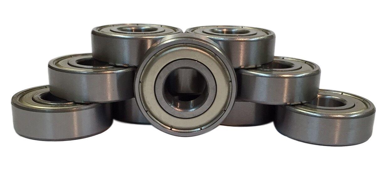 Qty 10 6x17x6mm 606-ZZ C3 Premium Sealed Radial Ball Bearing
