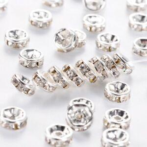 500pcs-Strass-Cristal-Clair-Puck-Charm-Spacer-Beads-Grade-A-6-mm