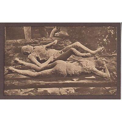Cartolina Postale - Pompei / Impronte umane