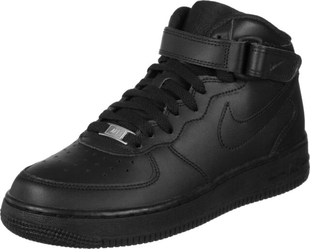 Nike Air Force 1 Mid (gs) 2146 314195 004 37.5 Nero