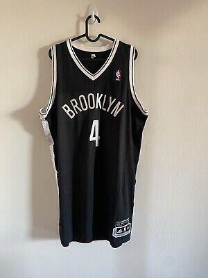 Jay-z Brooklyn Nets Adidas Nba Authentic Jersey Xxl 2 Length Barclays Center | eBay