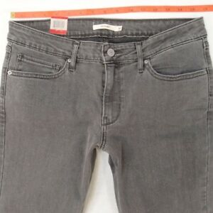 Stretch W31 Taglia Levis New Ladies Womens Bnwt Skinny 12 L28 grigi Jeans 711 Uk B4CXw8