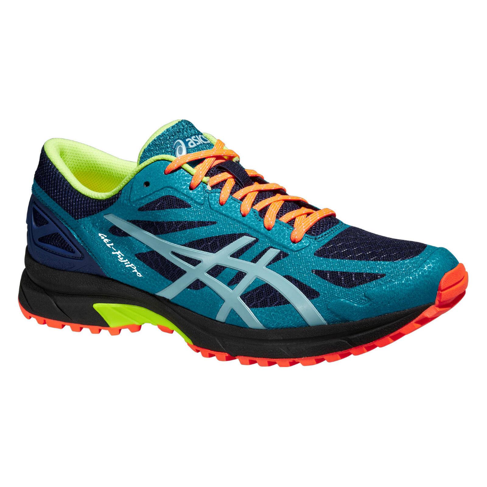 ASICS Gel-Fuji Pro  Herren Cushioned Road Running Sports Trial Schuhes Trainers