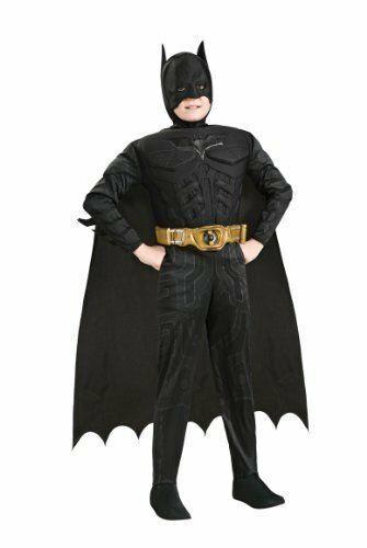 Child Batman Muscle Costume The Dark Knight Rises