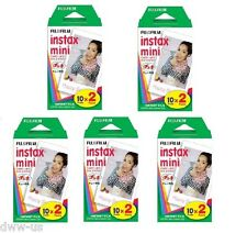 100 Sheet Fujifilm Fuji Instax Mini Instant Film for 7s 8 10 20 25 50 SP1 #F10