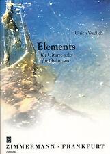 Ulrich Wedlich - Elements für Gitarre solo