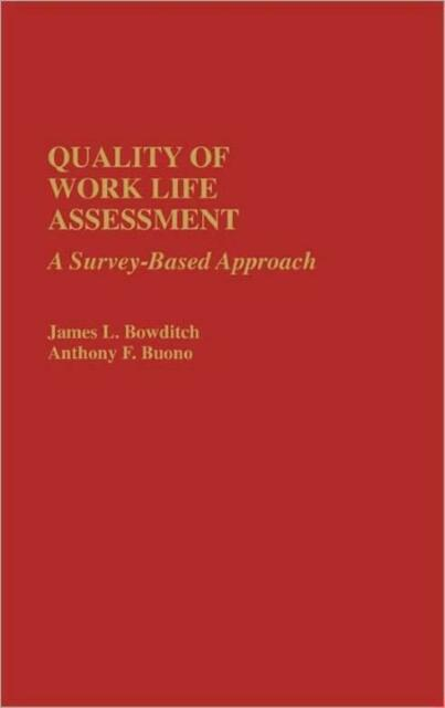 Quality Of Work Life Assessment: A Survey-Based Approach