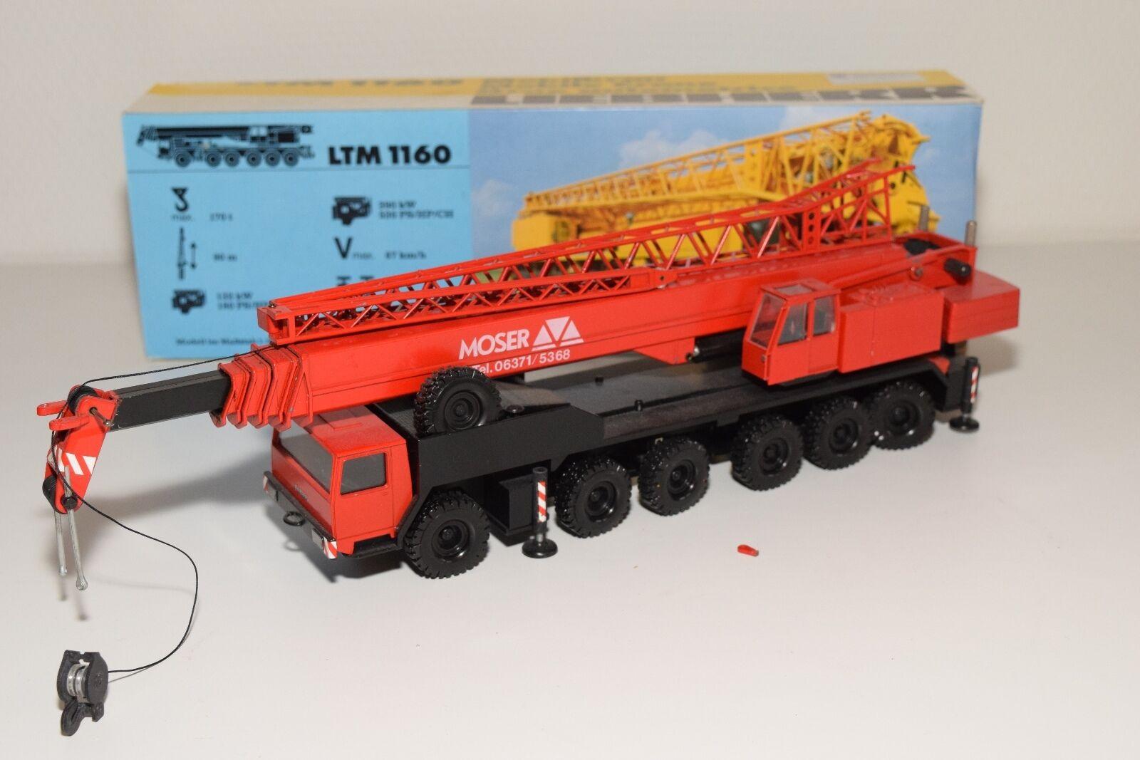 CONRAD 2082 LIEBHERR LTM 1160 LTM1160 MOSER MOBILE CRANE AUTOKRAN EXCELENT BOXED