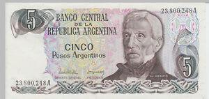 1983-5-Pesos-Banknote-Argentina-UNC-Pick-312