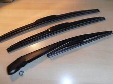 MINI inc Cooper R56 2005-2012 Hybrid Front Wiper Blades.+ Rear Arm Blade Set