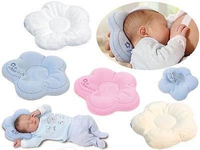 Modest Babykopfkisssen Kissen Lagerungskissen Stillkissen Kopfkissen Flor Öko-tex 100