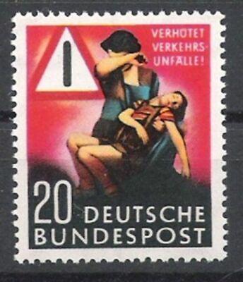 Bund Nr.162 ** Unfallverhütung 1953, Postfrisch Zu Den Ersten äHnlichen Produkten ZäHlen