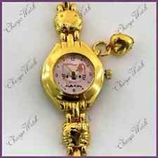 Neat Ladies Hello Kitty Watch Gold Style