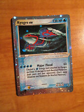 NM Holo KYOGRE EX Pokemon PROMO Card 001 Nintendo BLACK STAR Set Power-Magazine