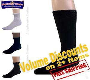 12-Pair-1-Dozen-Physicians-Choice-Cushioned-Diabetic-Socks-Any-Color-Made-In-USA