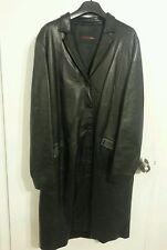 BALLY Women's Designer Lambskin Leather Coat SZ 48