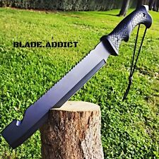 """16"""" HUNTING SURVIVAL MACHETE Military FULL TANG Fixed Blade Knife SWORD BOWIE"""