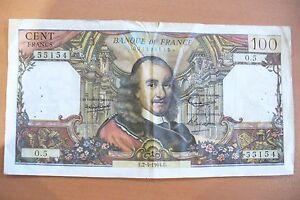 Ancien Billet 100 Frs Corneille 02/04/1964 Tb+ !! 1ere Date - A Saisir ...