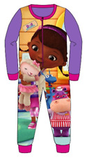 Girls Pyjamas Sleepsuit All Inn One Jumpsuit Disney Doc McStuffins