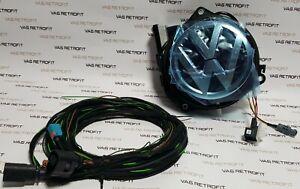 Neu-Original-Rueckfahrkamera-VW-Golf-7-VII-GTI-GTD-R-Emblem-5G0827469S-mit-Kabel