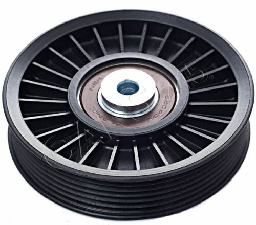 Guide Pulley V-Ribbed Belt Fits CHEVROLET MERCEDES VAUXHALL Vectra 1995