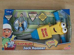 ULTRA RARE Handy Manny Jackhammer Jack Hammer NEW AMAZING CHRISTMAS ...