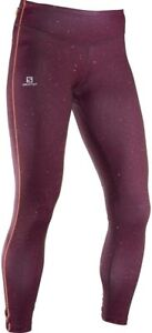 Purple Driving A Roaring Trade Fitness, Running & Yoga Liberal Salomon Elevate Womens Long Running Tights Women's Clothing