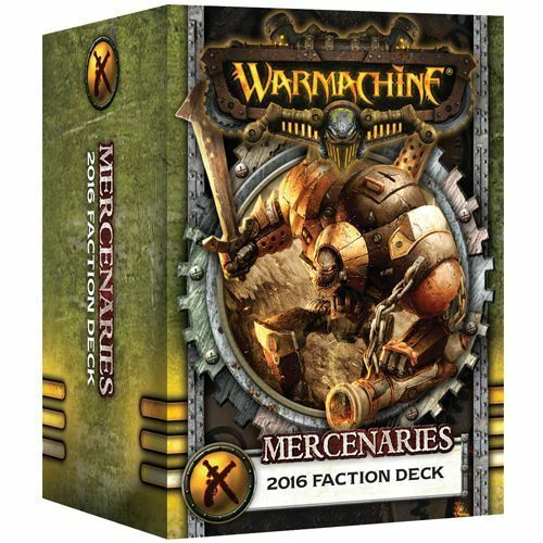 Mercenaries 2016 Faction Deck New Warmachine