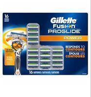 Gillette Fusion Proglide Power Cartridges 16 Count