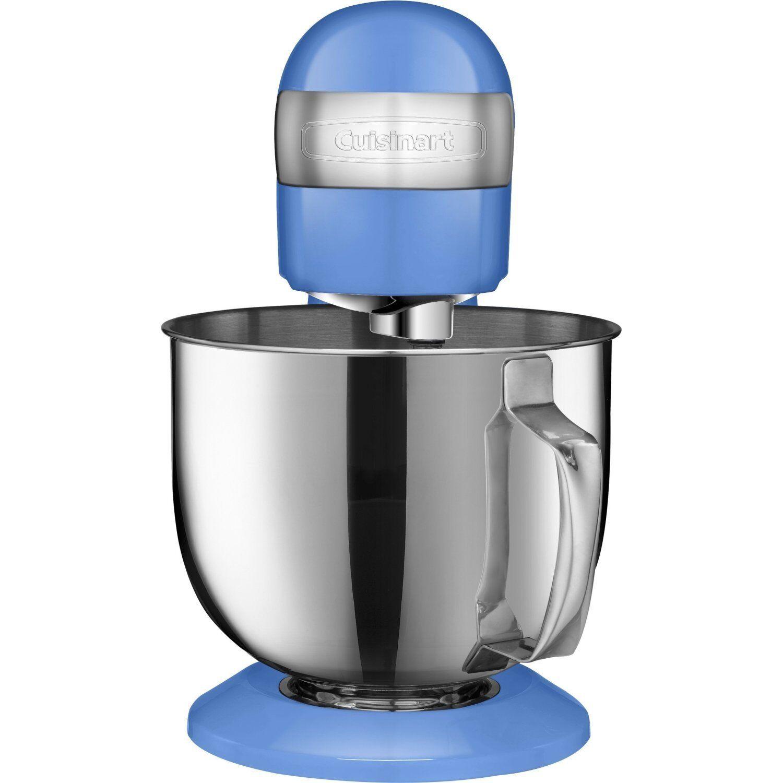 Cuisinart SM-50BK 5.5 Quart 12 Speed Stand Mixer, bleu