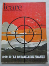 ICARE AVIATION FRANCAISE 55 1939-1940 BATAILLE DE FRANCE TOME 2 CHASSE LUFTWAFFE