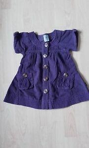 Girl-039-s-Pumpkin-Patch-Purple-Cord-Dress-Age-12-18-mths