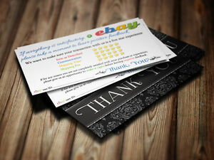 Thank you business cards feedback ebay seller 5 five star rating 100 image is loading thank you business cards feedback ebay seller 5 reheart Image collections