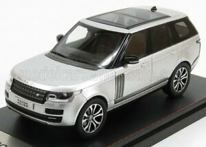 LCD-MODEL 1/43 LAND ROVER | RANGE ROVER SV AUTOBIOGRAPHY DYNAMIC 2017 | SILVER