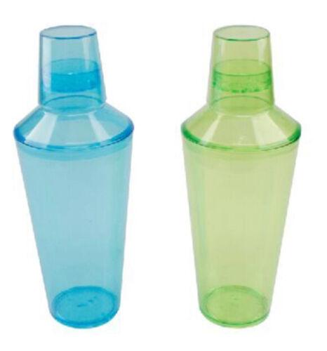 6 En Plastique Shaker 480 ml faites votre propre cocktails Party Time