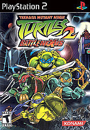 Teenage Mutant Ninja Turtles 2 Battlenexus Sony Playstation 2 2004 For Sale Online Ebay