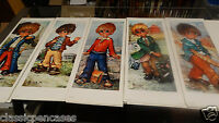 Five European Poster Made In France Michel Thomas / Magda K Eyed Children 1