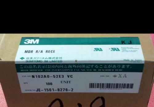 LOT OF 16 3M N102A0-52E3VC MINI-D RIBBON 100 POSITION CONNECTOR